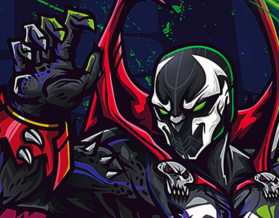 SPAWN FAN ART COMMISSION