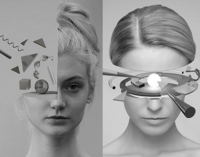 Pieces of Us: 3D Photo composition