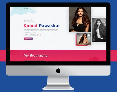Komal Pawaskar - Actor, Model