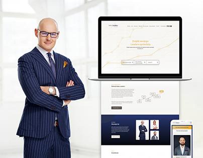 Sales Leaders - branding, web, photo session