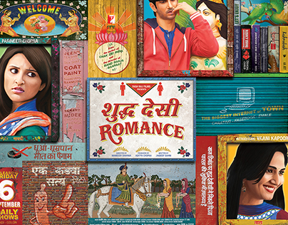 Shuddh Desi Romance [Pure Indian Romance] Art & Trailer
