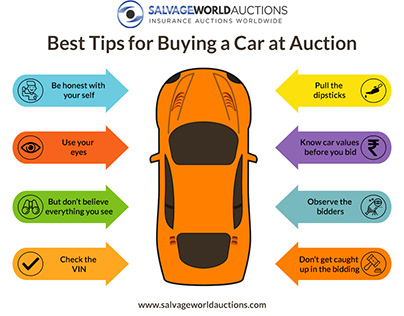 Top 8 Tips for Buying a Car at Auction
