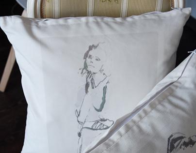 Artystyczne poduszki / Art pillow