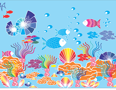 oceano de cores