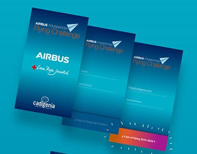 UX-UI app Airbus-Cadigenia