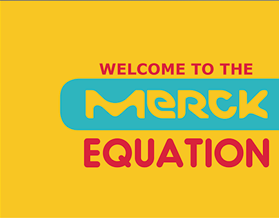 MERCK event branding (Internal campaign)