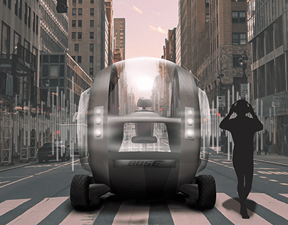 Bubble Bose - Urban acoustic vehicle