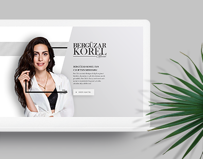 Bergüzar Korel Official Website