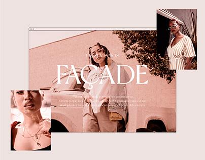 FAÇADE   Catálogo Digital - Página Web