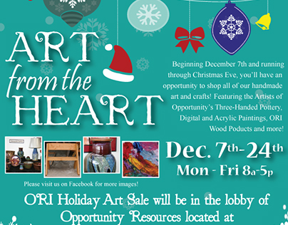 Artists of Opportunity Holiday Art Sale - 2015