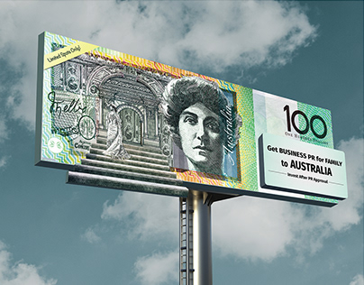 Migrate to Australia | Outdoor Campaign for Phoenix