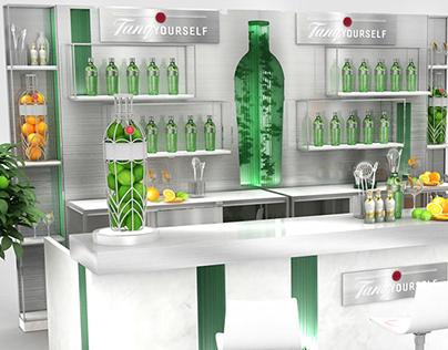 Tanqueray Event Bar Design 2019