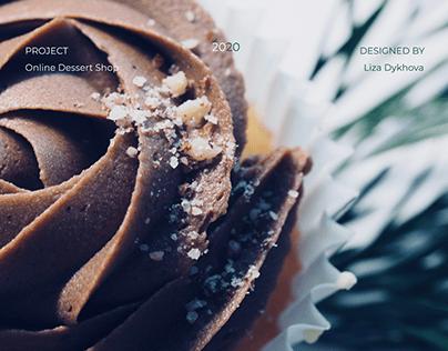 Online dessert shop Sweet Wishes