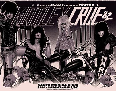 Mötley Crüe Santa Monica 1982