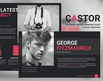 Castor - Free PowerPoint Template
