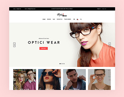 Optical Wear Shopify Section Theme