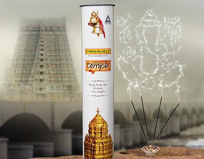"""Mangaldeep Agarbathigal"" advertisement poster"