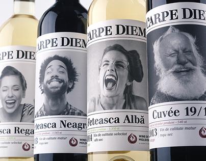 """Wine design """"Carpe Diem""""/ Дизайн вина """"Carpe Diem"""""""