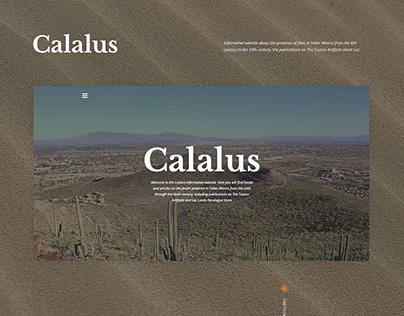 Calalus Website