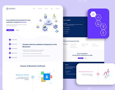 Web - Document Verification on Blockchain Project