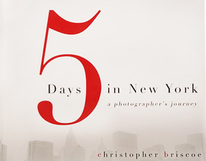 Christopher Briscoe Photography Book Design