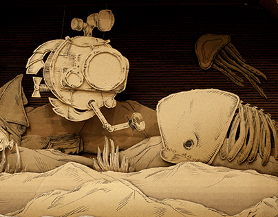 20000 leagues under the Cardboard