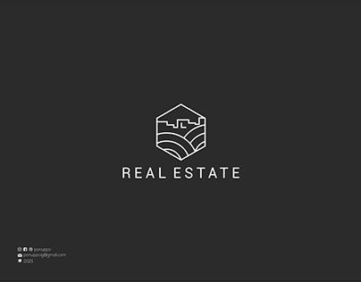 Lineart Real Estate Logo