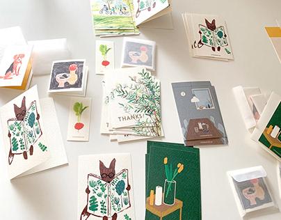 My illustration cards