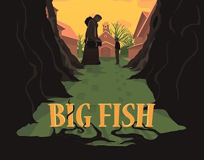 Movie poster - Big Fish