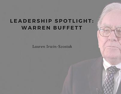 Leadership Spotlight: Warren Buffett