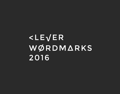 Clever Wordmarks 2016