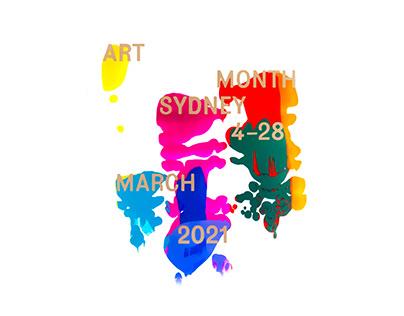 Art Month Sydney Festival 2021 Branding