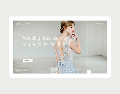 Mywony Bridal Dress