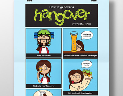 Hangover Infographic
