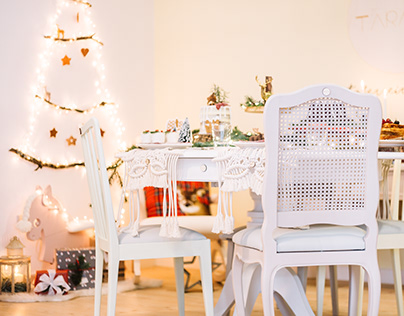 Christmas Brunch | tableware and food editorial