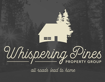 Whispering Pines Property Group Branding