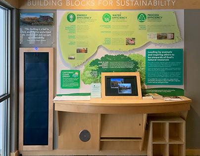 Environmental Graphic Design • Calvin Eco Preserve