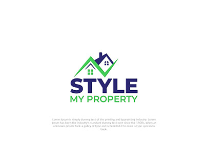 STYLE MY PROPERTY LOGO DESIGN - Home Styling Company