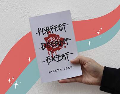 Perfect Doesn't Exist book design