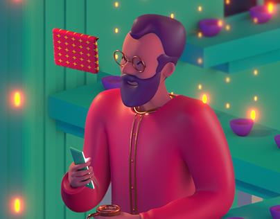 MoneyGram Diwali Animated Film