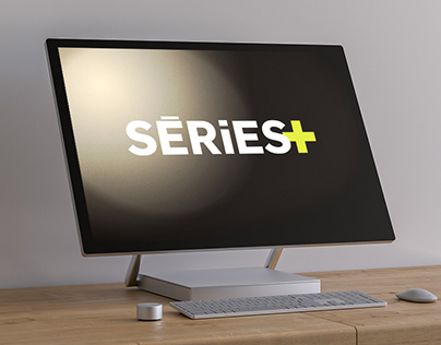Séries+ tv website - Art direction, graphic design