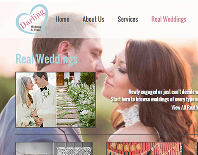 Darling Wedding & Event Website