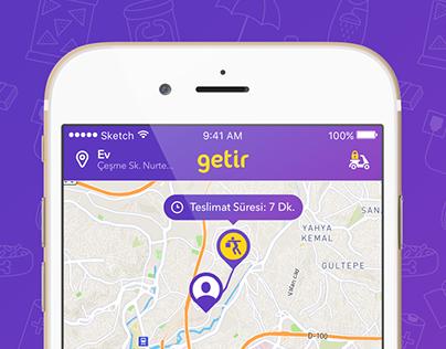 Getir Mobile App - Redesign - 2017