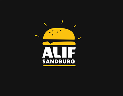 Alif Sandburg Branding Logo Graphic & Packaging Design