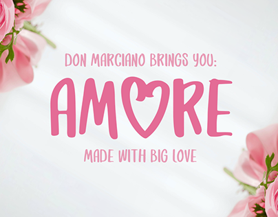 Amore - Free Font