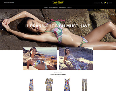 Ecommerce Project (beachwear)