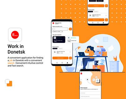Website work ui/ux landing page