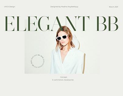 Landing Page/ Elegant Big Bow