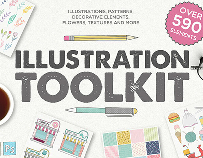 Logo toolkit by Julia Dreams