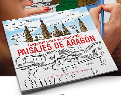 Illustrations for book 'Aragón landscapes'